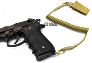 【翔準軍品AOG】尼色 手槍專用繩 防掉槍繩 手槍 瓦斯槍 周邊配件 M9 1911 c0920-2