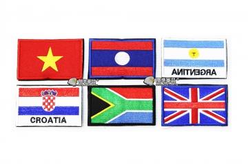 【翔準軍品AOG】國旗 越南 寮國 阿根廷 克羅埃西亞 南非 英國 臂章 徽章 勳章 生存遊戲