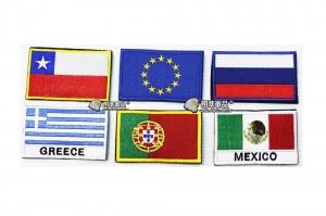【翔準軍品AOG】國旗 智利 歐盟 俄羅斯 希臘 葡萄牙 墨西哥 臂章 徽章 勳章 生存遊戲