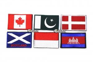 【翔準軍品AOG】國旗 加拿大 巴基斯坦 丹麥 蘇格蘭 摩納哥 柬埔寨 臂章 徽章 勳章 生存遊戲
