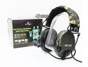【翔準軍品AOG】Z TAC 重低音耳機 Z111 抗噪耳機 無線電 麥克風 頭盔 生存遊戲 E0140BB