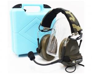 【翔準軍品AOG】Z TAC重低音耳機 Z041FG 抗噪耳機 無線電 麥克風 頭盔 生存遊戲 E0140BA