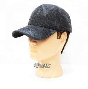 【翔準軍品AOG】黑色 蟒蛇迷彩帽 莽蛇 棒球帽 迷彩帽 帽子 防賽 軍帽