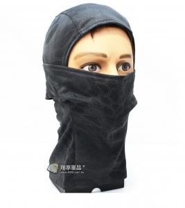 【翔準軍品AOG】黑蟒 面罩 頭套 忍者 遮陽 偽裝 騎車 透氣  登山 E0416-1