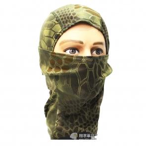 【翔準軍品AOG】綠蟒 面罩 頭套 忍者 遮陽 偽裝 騎車 透氣  登山 E0416-2