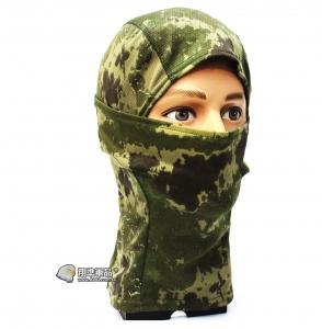 【翔準軍品AOG】綠色 新忍者 面罩 頭套 忍者 遮陽 偽裝 騎車 透氣  登山 E0416-8B
