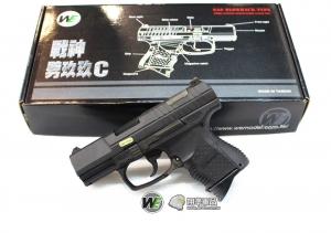 【翔準軍品AOG】*無法超取*WE P99C 手槍 瓦斯槍 GBB 生存遊戲 無彈後定 D-02-05EC