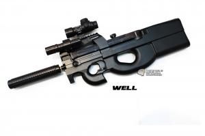 【翔準軍品AOG】WELL D90H 滅音管 槍燈 內紅點 電動槍 EBB CQB 室內殺手 DW-01-D90H 無法超取