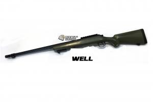 【翔準軍品AOG】*無法超取* 綠色 WELL MB07 AG 手拉空氣槍 長槍 生存遊戲 DW-01-07AG