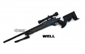 【翔準軍品AOG】*無法超取* 黑色 WELL MB04FD 手拉空氣槍 長槍 ASP2 DW-01-04FD