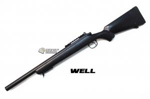 【翔準軍品AOG】*無法超取* 黑色 WELL MB02ATN 手拉空氣槍 簡配 生存遊戲 DW-01-02ATN