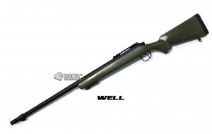 【翔準軍品AOG】*無法超取* 綠色 WELL MB07 AG 手拉空氣槍 簡配 生存遊戲 DW-01-07AG