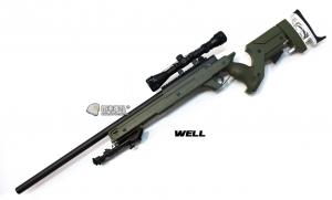 【翔準軍品AOG】*無法超取* 綠色 WELL MB05AG 手拉空氣槍 簡配 ASP2 DW-01-05AG
