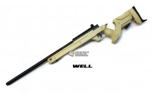 【翔準軍品AOG】*無法超取* 沙色 WELL 04 ATN 手拉空氣槍 簡配 生存遊戲 DW-01-04ATN