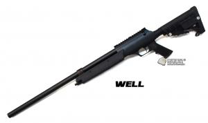 【翔準軍品AOG】*無法超取* WELL06ATN  黑色 手拉空氣 狙擊槍 簡配 DW-01-MB13A