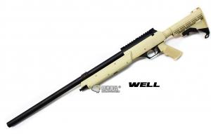【翔準軍品AOG】*無法超取* WELL06 ATN  沙色 手拉空氣 狙擊槍 簡配 DW-01-06ATN