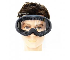 【翔準軍品AOG】黑框 透明鏡片 護目鏡 眼罩 基本配備 生存遊戲 休閒 運動 E03002-1