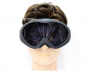 【翔準軍品AOG】黑框 黑色鏡片 護目鏡 眼罩 基本配備 生存遊戲 休閒 運動 E03002-4