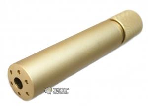 【翔準軍品AOG】沙色 快拆式 滅音管  M4 瓦斯槍 電動槍 逆14牙 周邊配件 1111AL