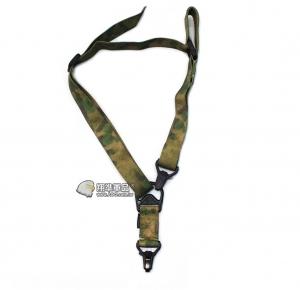 【翔準軍品AOG】綠潑墨 高級雙點 槍背帶 AK M4 G36 周邊配件 C0903-7