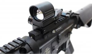 【翔準軍品AOG】復仇者 內紅綠 4點可變換 光學瞄具 AK M4 G36 周邊配件 B02050