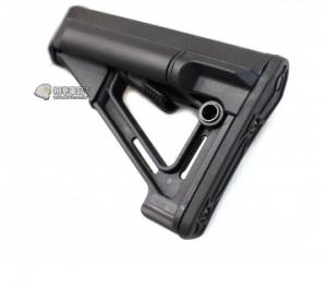 【翔準軍品AOG】黑色 S戰鬥後托 槍托 AK M4 周邊配件 瓦斯槍 電動槍 C1018A