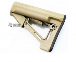 【翔準軍品AOG】沙色 S戰鬥後托 槍托 AK M4 周邊配件 瓦斯槍 電動槍 C1018B