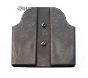 【翔準國際AOG】黑色 FMA雙彈匣 快拆套 手槍  彈匣套 生存 裝備 配備 TB1239-BK