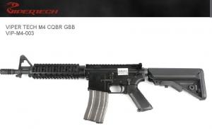 【翔準軍品 AOG】 *無法超取* VIPER 毒蛇 M4 CQBR 魚骨 10.5槍管 GBB  鋼製