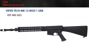 【翔準軍品 AOG】 *無法超取*VIPER 毒蛇 MK-12 固定托 GBB 槍管 GBB 鋼製