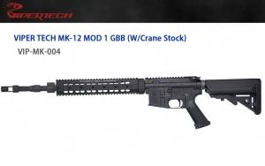 【翔準軍品 AOG】 *無法超取*VIPER 毒蛇 MK-12 海豹托 GBB 槍管 GBB 鋼製
