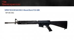 【翔準軍品 AOG】 *無法超取*VIPER 毒蛇 M16A4 M5 三發點放 GBB  頂級 鋼製