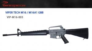 【翔準軍品 AOG】 *無法超取*VIPER 毒蛇 M16A1 M5 固定托 GBB  頂級 鋼製 生存遊戲
