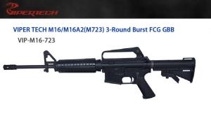 【翔準軍品 AOG】 *無法超取*VIPER 毒蛇 M16A2 三發版 14.5槍管 GBB  鋼製 頂級