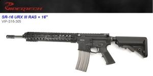 【翔準軍品 AOG】 *無法超取*VIPER 毒蛇 SRV-16 UR-X III RAS 16槍管 GBB 鋼製 頂級