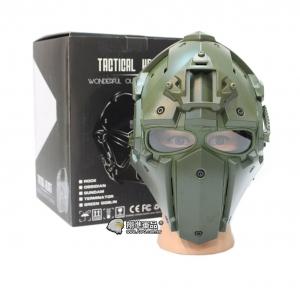 【翔準軍品 AOG】綠色 懲罰者高級頭盔 全配 電影 戰鬥頭盔 頭盔 護具 E0120HB