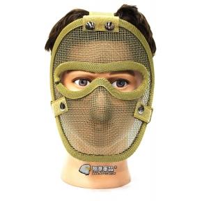 【翔準軍品 AOG】沙色 無尾熊 全臉露眼面罩 面罩 護具 安全裝備 透氣 夏日  X2-11-3