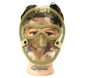 【翔準軍品 AOG】沙漠迷彩 無尾熊 全臉露眼面罩 面罩 護具 安全裝備 透氣 夏日  X2-11-5