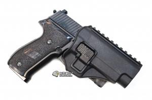 【翔準軍品 AOG】黑色 腰掛 背心款 P226  手槍 硬殼槍套 瓦斯槍 周邊配件 P1105KI