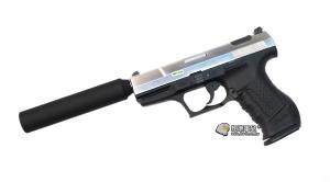 【翔準軍品AOG】WE P99 滅音管 手槍  加速管 瓦斯槍 GBB 周邊配件  D-02-05EG