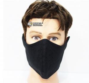 【翔準軍品AOG】黑/灰 抓絨防護半罩 面罩 偽裝 登山 休閒 生活 騎車 防曬 E0403-4