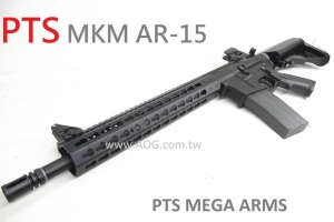 【翔準軍品AOG】(免運)*無法超取*PTS MEGA ARMS MKM-AR15 GBB 全金屬瓦斯槍