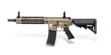 【翔準軍品AOG】*無法超取*G&G怪怪MK18 M4系列 AEG 電動槍 半金屬 (黑沙版) 免運費