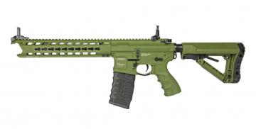 【翔準軍品AOG】*無法超取* G&G 怪怪 黑/綠 GC16 Predator AEG 金屬 電動槍  免運費