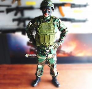 【翔準軍品AOG】特戰美軍 迷彩 套服 頭盔 手套 S腰帶 戰術背心 戰鬥靴 新手  特價 全配