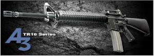 【翔準軍品AOG】*無法超取*G&G怪怪 TR16 A3 金屬 電動槍 AEG 免運費 M16