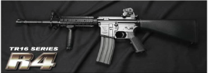 【翔準軍品AOG】*無法超取*G&G怪怪 TR16 R4 金屬 電動槍 AEG 免運費 M16
