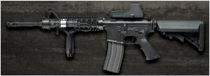 【翔準軍品AOG】*無法超取*G&G怪怪 TR16 R4 Commando 電動槍 AEG 金屬 免運費