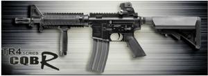 【翔準軍品AOG】*無法超取*G&G怪怪 TR4 CQB R 電動槍 AEG 金屬 免運費 M4