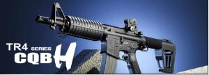 【翔準軍品AOG】*無法超取*G&G怪怪 TR4 CQB H 電動槍 AEG 金屬 免運費 M4